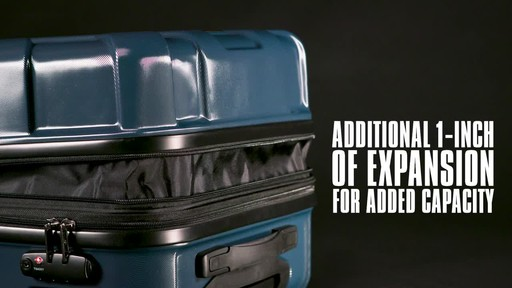 Samsonite Centric Expandable Hardside Spinner Luggage Collection - image 4 from the video