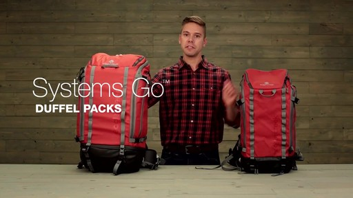 Eagle Creek Systems Go Duffel Pack - image 1 from the video