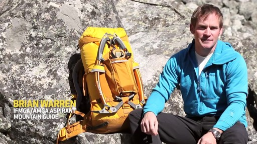 Gregory Alpinisto Hiking Backpacks - image 1 from the video