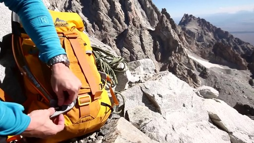 Gregory Alpinisto Hiking Backpacks - image 4 from the video