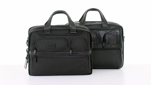 Tumi Alpha 2 Expandable Organizer Laptop Brief - eBags.com - image 1 from the video