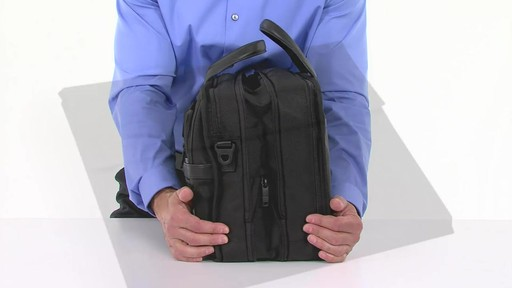 Tumi Alpha 2 Expandable Organizer Laptop Brief - eBags.com - image 4 from the video