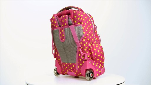 J World New York Lollipop Kids Rolling Backpack with Lunch Bag - on eBags.com - image 9 from the video