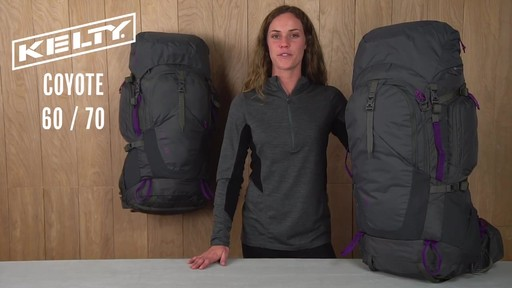 Kelty Coyote Women's Hiking Backpacks - image 1 from the video