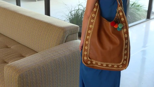 The Sak Pfieffer Leather Bucket - image 8 from the video