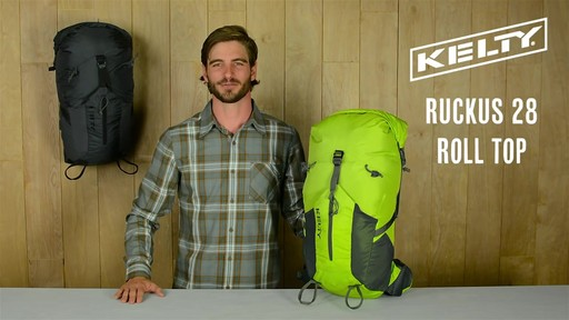 Kelty Ruckus Roll-Top 28 Hiking Backpack - image 1 from the video