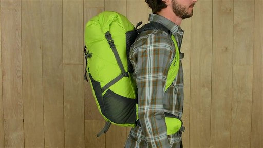 Kelty Ruckus Roll-Top 28 Hiking Backpack - image 3 from the video