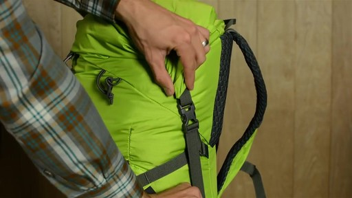 Kelty Ruckus Roll-Top 28 Hiking Backpack - image 4 from the video