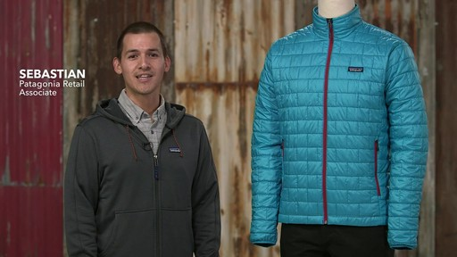 Patagonia Mens Nano Puff Jacket - on eBags.com - image 1 from the video