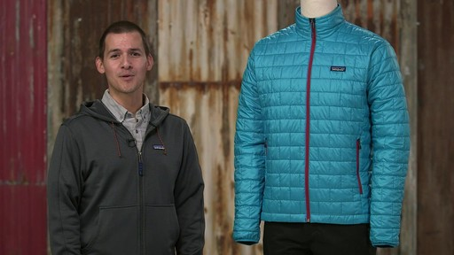 Patagonia Mens Nano Puff Jacket - on eBags.com - image 10 from the video