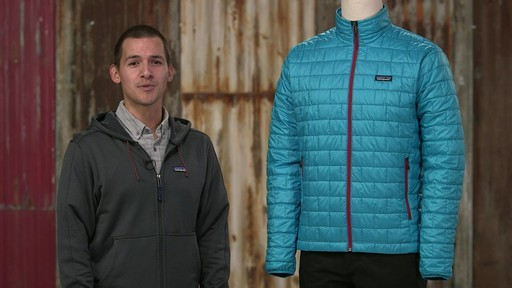 Patagonia Mens Nano Puff Jacket - on eBags.com - image 3 from the video