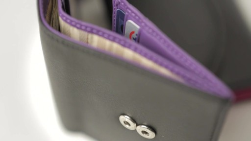 Royce Leather RFID Blocking Ladies Wallet - image 1 from the video