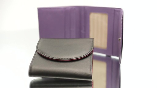 Royce Leather RFID Blocking Ladies Wallet - image 10 from the video