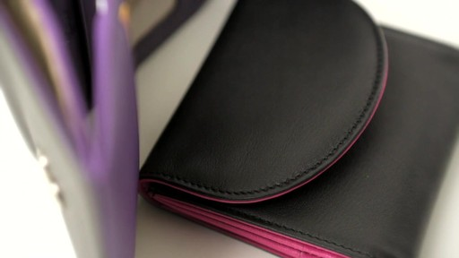 Royce Leather RFID Blocking Ladies Wallet - image 4 from the video
