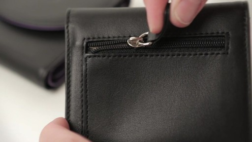 Royce Leather RFID Blocking Ladies Wallet - image 6 from the video