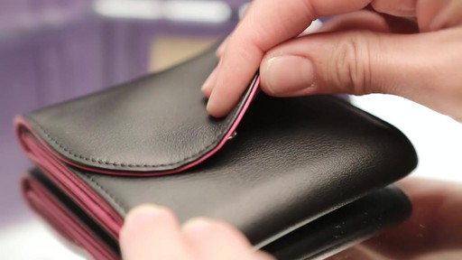 Royce Leather RFID Blocking Ladies Wallet - image 7 from the video