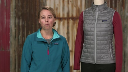 Patagonia Womens Nano Puff Vest - on eBags.com - image 1 from the video