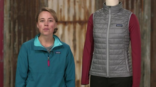Patagonia Womens Nano Puff Vest - on eBags.com - image 10 from the video