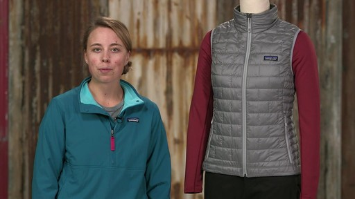 Patagonia Womens Nano Puff Vest - on eBags.com - image 3 from the video