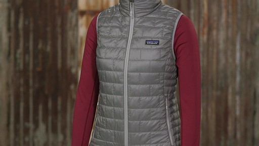 Patagonia Womens Nano Puff Vest - on eBags.com - image 4 from the video