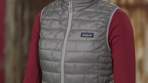 Patagonia Womens Nano Puff Vest - on eBags.com - image 5 from the video