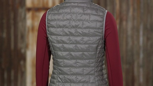 Patagonia Womens Nano Puff Vest - on eBags.com - image 6 from the video