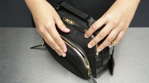 Tumi Voyageur Troy Crossbody - image 4 from the video