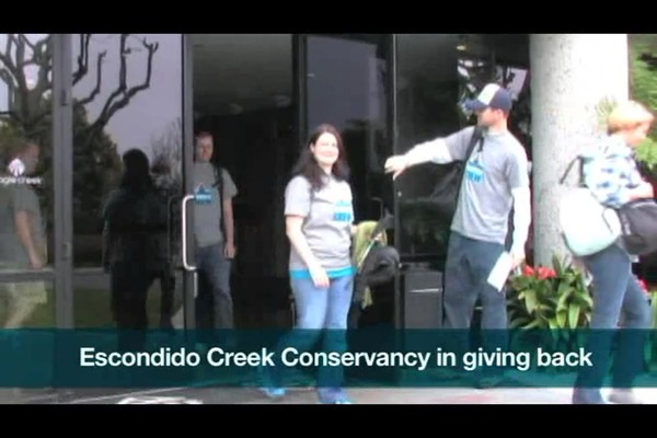 Eagle Creek - Volunteering at Bottle Creek 2012 - image 1 from the video