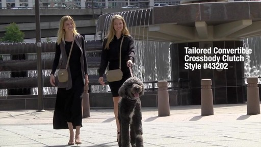 Travelon Anti-Theft Tailored Convertible Crossbody Clutch - image 1 from the video