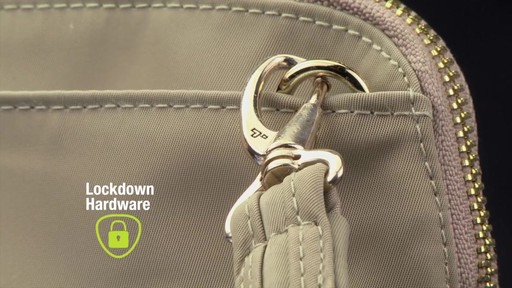 Travelon Anti-Theft Tailored Convertible Crossbody Clutch - image 3 from the video