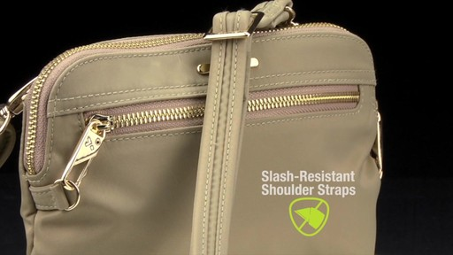 Travelon Anti-Theft Tailored Convertible Crossbody Clutch - image 5 from the video