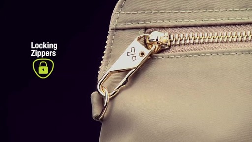 Travelon Anti-Theft Tailored Convertible Crossbody Clutch - image 6 from the video