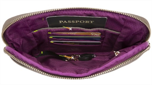 Travelon Anti-Theft Tailored Convertible Crossbody Clutch - image 7 from the video