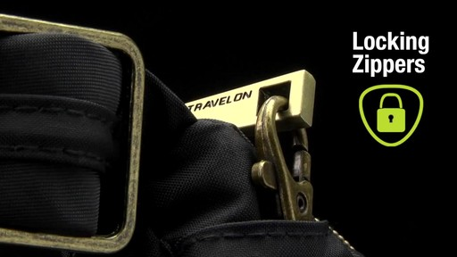 Travelon Anti-Theft Signature Twin Pocket Hobo - eBags.com - image 3 from the video