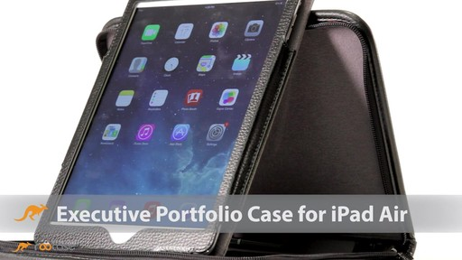 rooCASE iPad Air: Executive Leather Case - image 1 from the video