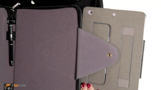 rooCASE iPad Air: Executive Leather Case - image 3 from the video