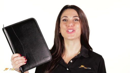 rooCASE iPad Air: Executive Leather Case - image 4 from the video
