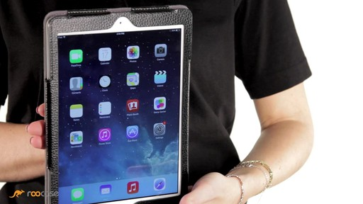 rooCASE iPad Air: Executive Leather Case - image 5 from the video