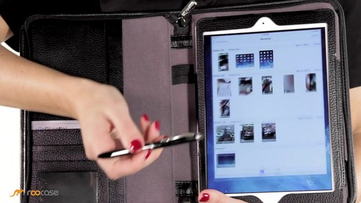 rooCASE iPad Air: Executive Leather Case - image 7 from the video