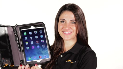 rooCASE iPad Air: Executive Leather Case - image 8 from the video