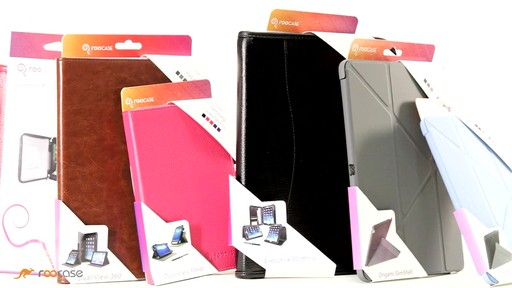 rooCASE iPad Air: Executive Leather Case - image 9 from the video