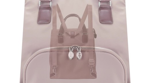 McKlein USA Sofia 4-in-1 Tote - image 3 from the video