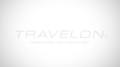 Travelon Packable Shelves Rundown - image 1 from the video