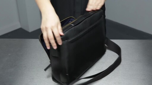 Tumi Harrison Forest Leather Utility Bag - image 6 from the video