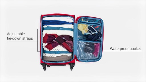 Delsey Helium Sky 2.0 Luggage - on eBags.com - image 6 from the video