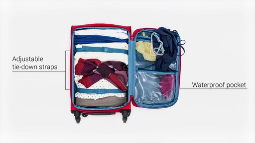 Delsey Helium Sky 2.0 Luggage - on eBags.com - image 7 from the video