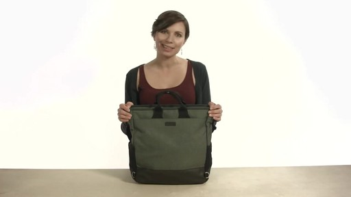 Noe Commuter Pannier Tote Backpack - eBags.com - image 1 from the video