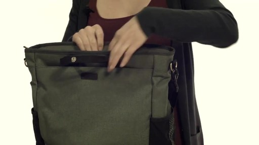 Noe Commuter Pannier Tote Backpack - eBags.com - image 3 from the video