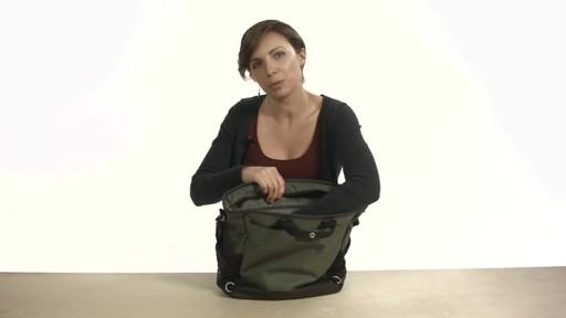 Noe Commuter Pannier Tote Backpack - eBags.com - image 4 from the video