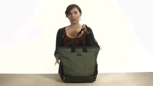 Noe Commuter Pannier Tote Backpack - eBags.com - image 5 from the video